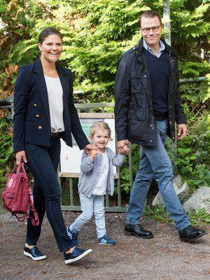 Prinzessin Victoria + Prinz Daniel: Prinzessin Victoria, Prinzessin Estelle, Prinz Daniel