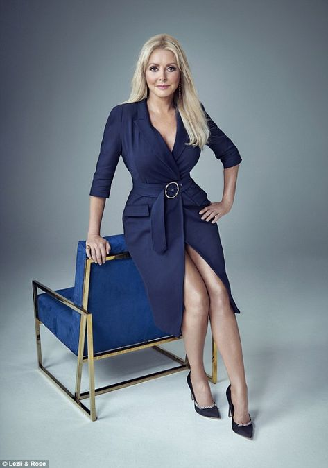 Carol Vorderman, 57, (pictured) gave an insight into her views on relationships ahead of hosting a new ITV dating show for people aged over 50