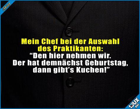 Chef hat seine Prioritäten #Kuchen #Kuchenliebe #Spruch #Witz #Witze #Spaß #lachen
