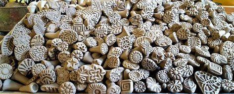 Photo of Sellos de arcilla para cerámica, fimo, PMC, pasta de azúcar y más arcilla Tools, herramienta de text