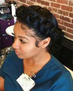 62 Ideas Hairstyles Black Women Baby Shower For 2019 Natural Hair Styles Natural Braided Hairstyles Black Women Hairstyles