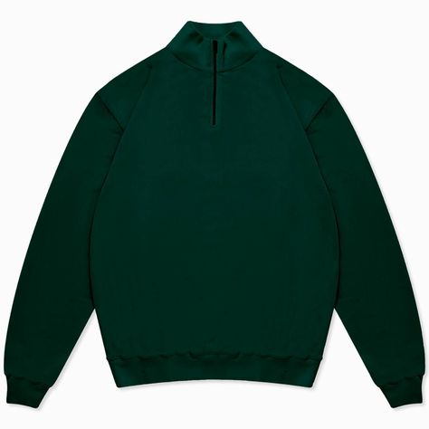 This half-zip sweatshirt is a new addition to La Paz Relaxed fit which is also perfect for your winter layering Made in Portugal 100% Organic Cotton
