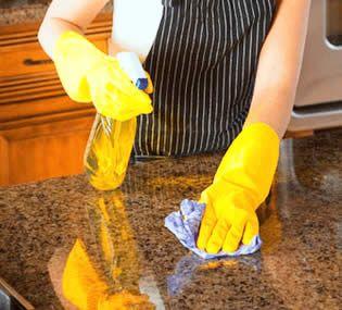 Como Limpiar El Granito Como Eliminar Las Manchas En El Granito Encimeras Paredes Suelos Como Limpiar El Marmol Encimeras De Granito Limpieza De Granito