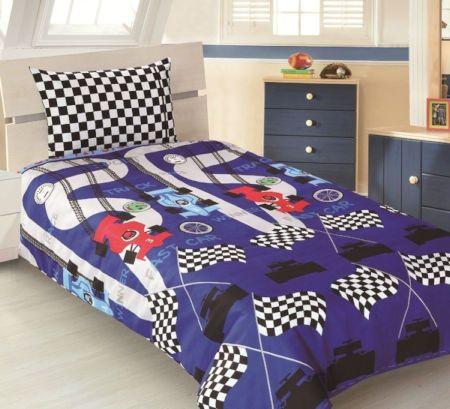 Checkered Flag Race Car Duvet Cover Bedding Set Bedding Sets Bedroom Decor Home Staging