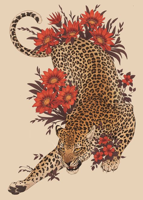 Another animal poster this time commission for Teliko. Drawing this was really nice experience leopard bigcat digitalart Purple Aesthetic, Aesthetic Art, Tattoo Drawings, Art Drawings, Tattoo Illustrations, Bauch Tattoos, Animal Posters, Future Tattoos, Japanese Art