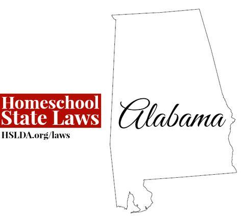 ALABAMA Homeschool State Laws | HSLDA