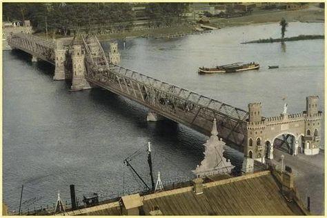 Bridge Kampen - De brug van kampen in 1931-The Netherlands
