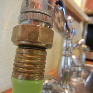 kitchen sink faucet to garden hose