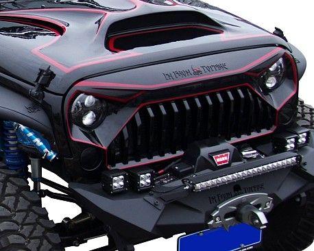 Avenger Style Frp Bonnet Front Hood Custom Jeep Wrangler Jeep Wrangler Jeep Wrangler Accessories