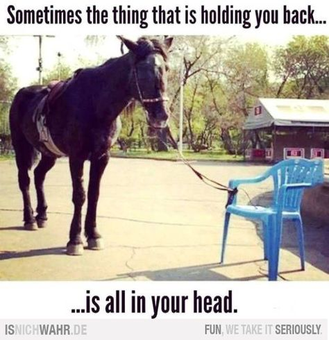 The thing holding you back