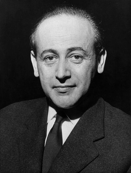 Paul Celan photographed in 1962