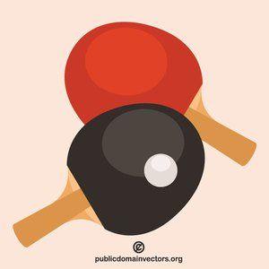 Publicdomainvectors Org Table Tennis Rackets Table Tennis Racket Table Tennis Bats Table Tennis