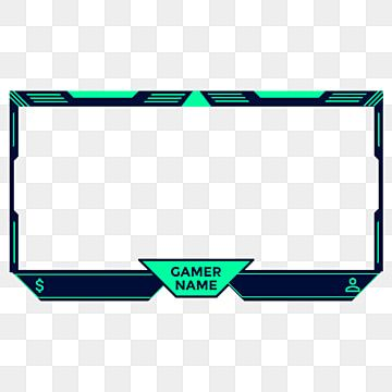 Twitch Face Cam Frame Live Streaming Overlay With Gaming Style Also Can Be Used For Obsgaming Game Stream Live Png And Vector With Transparent Background Fo Overlays Free Overlays Graffiti Wallpaper