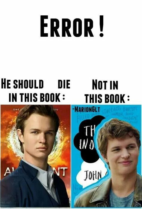 Oh gods what is wrong with all of you, my feels finally called down over TFIOS and Divergent! I hate fandoms. Divergent Memes, Divergent Hunger Games, Divergent Fandom, Divergent Trilogy, Divergent Insurgent Allegiant, Tfios, Insurgent Quotes, Book Tv, The Fault In Our Stars
