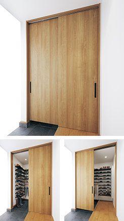 設置スタイル 玄関収納 間取り 室内ドア 玄関 内装
