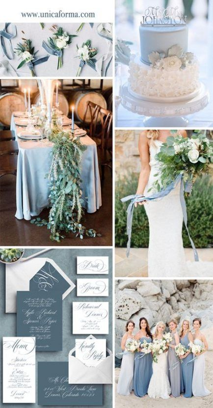 New Wedding Bouquets Blue And White Shades 16+ Ideas