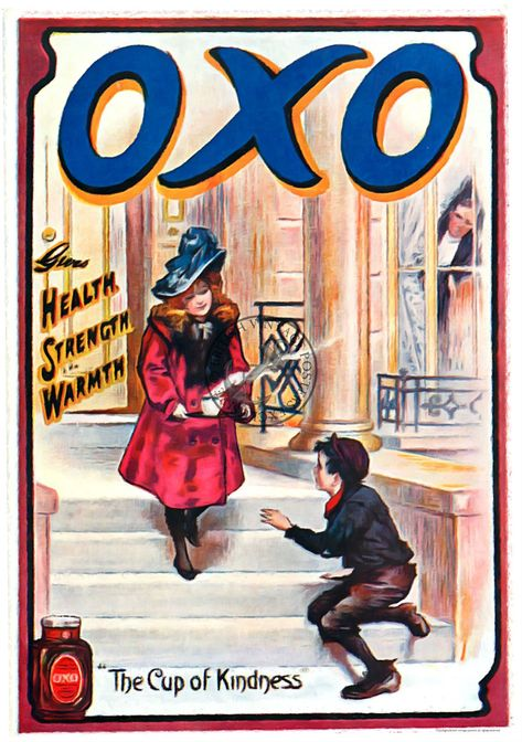 Oxo Cooking Easy Vintage Art Print Poster A1 A2 A3 A4 A5