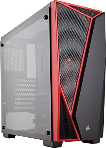 Corsair Carbide Spec 04 Mid Tower Gaming Case Tempered Glass Red Price As Of Details Https Www Amazon Com Cor Custom Computer Tempered Glass Pc Cases