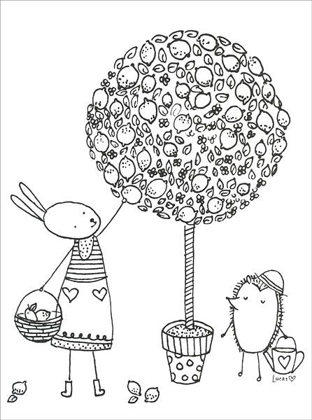 The Magical Garden Coloring Book from KnitPicks.com Knitting by Lucas, Ashley On Sale