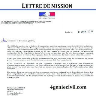 Exemple De Lettre De Mission Exemple De Lettre Exemple Lettre Motivation Lettre A