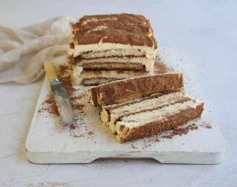 This Milo tiramisu is fantastic, because the whole family can enjoy it. I make it in the morning to have it after dinner that night.