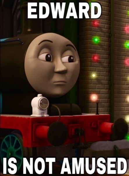 Ttte Somber Edward Meme By Dragonsource25 On Deviantart Thomas And Friends Bear Coloring Pages Thomas