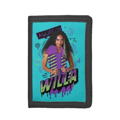 Zombies 2 Willa Trifold Wallet Zazzle Com Trifold Wallet Zombie Disney Zombie 2