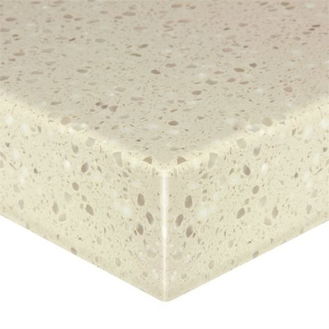 Think Solid 38mm Custom Made Benchtop Brioche Bunnings Warehouse Solid Surface Work Surface Custom