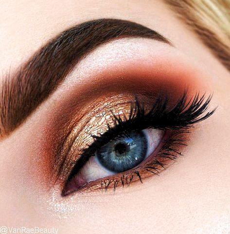 Eye Makeup For Blue Eyes Over 50 Make Up In 2020 Eyeshadow Makeup Maybelline Eyeshadow Makeup Eyeshadow