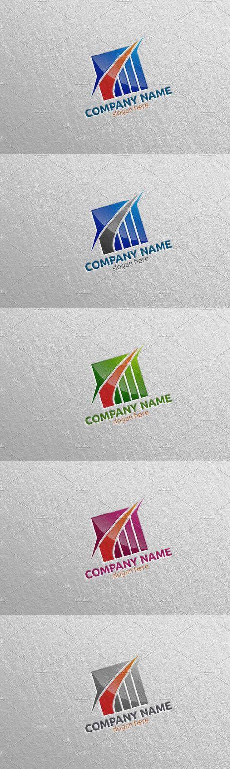 Invest Marketing Financial Logo 15