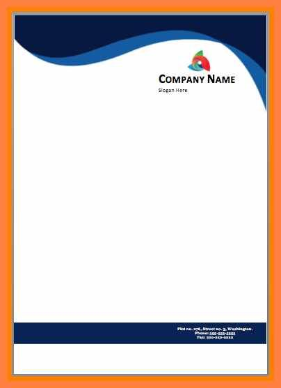 Fresh Letterhead Sample Free Download For You Https Letterbuis Com Fresh Letterhead Free Letterhead Templates Letterhead Template Company Letterhead Template