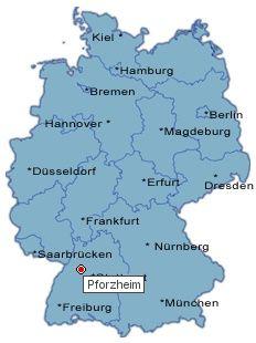 Pforzheim Karte.Pforzheim Karte Deutschland Deutschland Karte Pforzheim Maps In