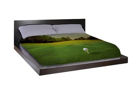 Golf Bed Sheets Maybe A Duvet Cover Would Be More Useful