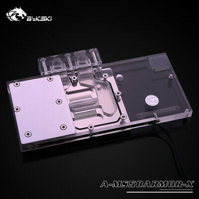 Details About Bykski A Ms58armor X Gpu Water Cooling Block For Msi
