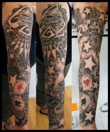 Resultado De Imagem Para New School Half Sleeve Tattoos Con