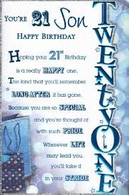 Image Result For Happy 21st Birthday Son Quotes Happy 21st