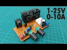 How To Make A Variable Power Supply 1 25v 0 10a Voltage Current Adjustable Power Supply Youtube Power Supply Circuit Power Supply Design Diy Electronics