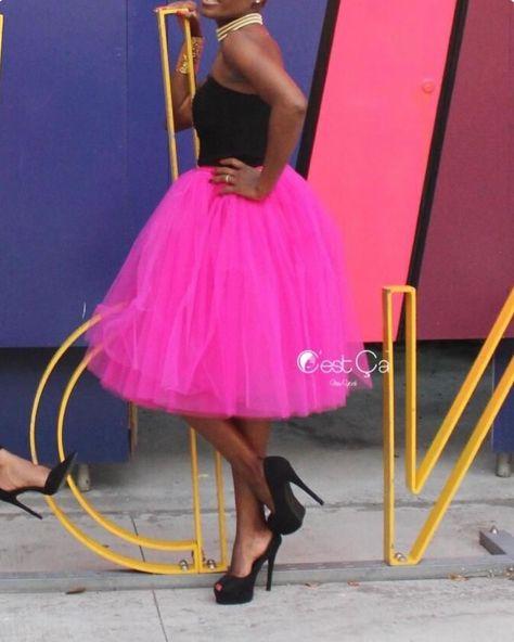 tulleskirt Fuchsia Love!   Skirt: Clarisa...
