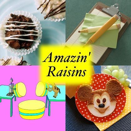 Amazin' Raisins: 25 Recipes, Crafts And Games With Raisins