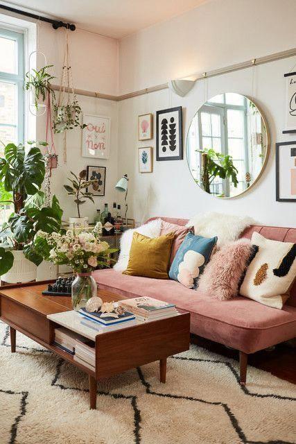Bohohomedecor In 2020 Modern Boho Living Room Retro Living Rooms Boho Living Room Decor