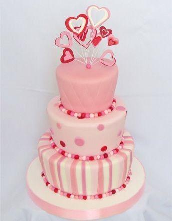 Pin On 3 Tier Birthday Cake