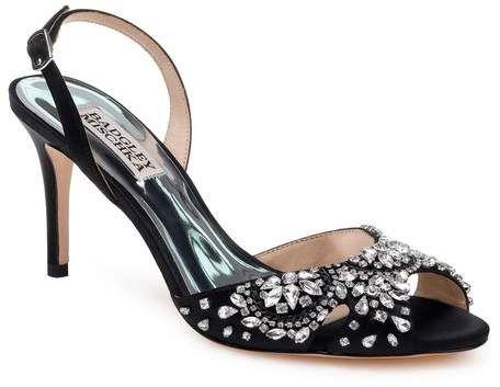 Camelle crystal embellished leather sandals