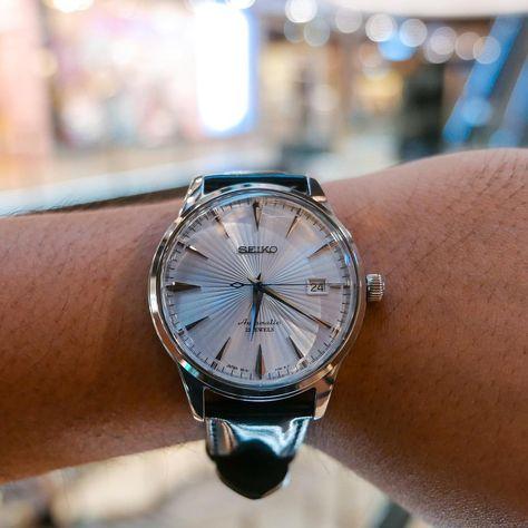 いいね!96件、コメント6件 ― Seiko Cocktail Timeさん(@lecocktailtime)のInstagramアカウント: 「Cocktail while shopping #seikojdm #sarb065 #seikococktailtime #seikoholic #wristshot…」