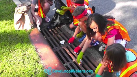 This series of public service announcements submitted by Hamilton County Soil and Water Conservation District advocates for water conservation and water quality. This particular video shows that storm drains are not garbage cans. The videos promote http://savelocalwater.org, and the goals of the Regional Storm Water Collaborative.