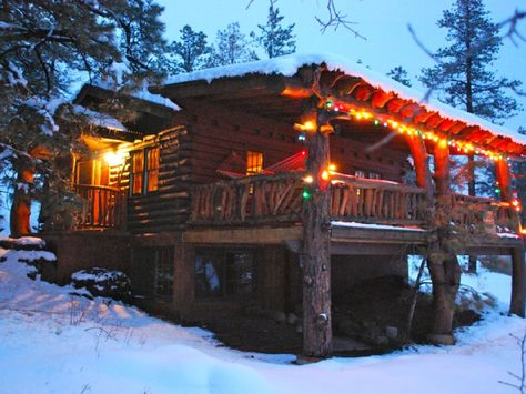Vrbo Com 196650 Wonderful Old Fashioned Colorado Log Cabin With A Grand Porch Cabin Cabins And Cottages Log Cabin