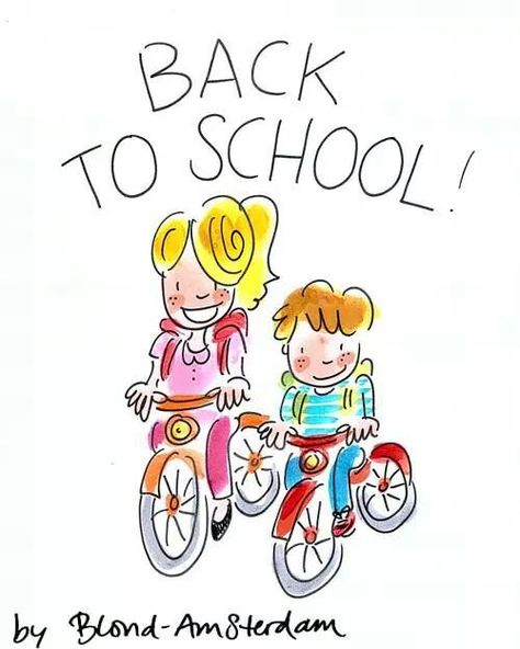 Back to school - Blond Amsterdam