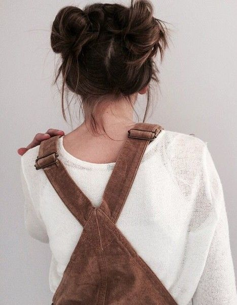 Overall Cutie - The Space Bun Trend Is Still Going Strong - Photos