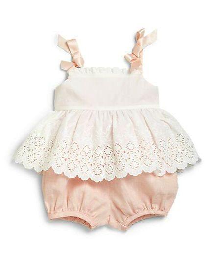 Ralph Lauren 2 Pc Set Pastel Clothes On Redsoledmomma Com Babykleidung Madchen Kinder Outfits Schwanger Kleidung