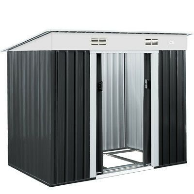 Details About Metal Garden Tool Shed Deuba 6x4ft Outdoor Storage Aluminium Base Store Steel Outdoor Storage House Storage Sheds For Sale Aluminum Sheds
