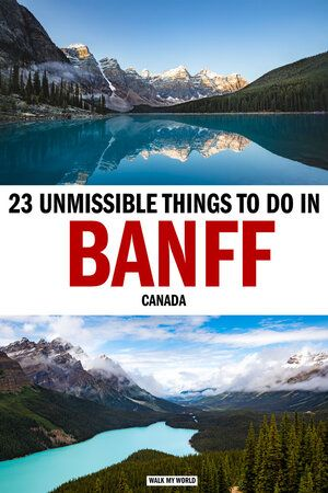 The 23 best things to do in Banff for an unforgettable trip — Walk My World